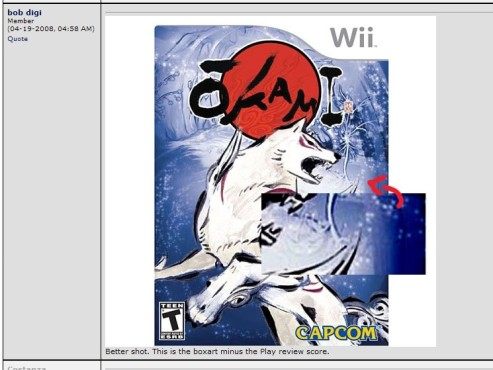 Actionspiel Okami: Cover