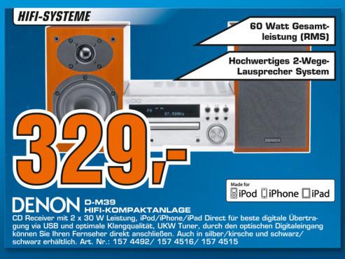 Denon D-M39 ©Saturn