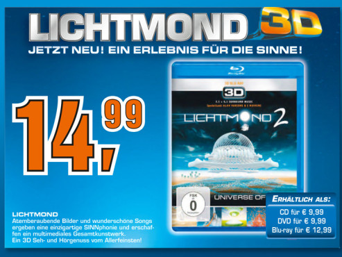 Lichtmond 2 - Universe of Light [3D] ©Saturn