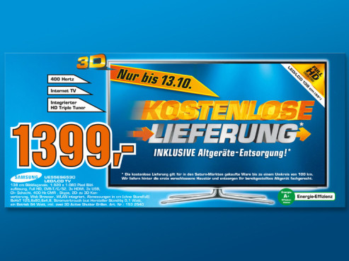 Samsung UE55ES6530 ©Saturn