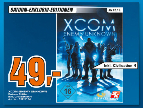 Xcom: Enemy Unknown © Saturn