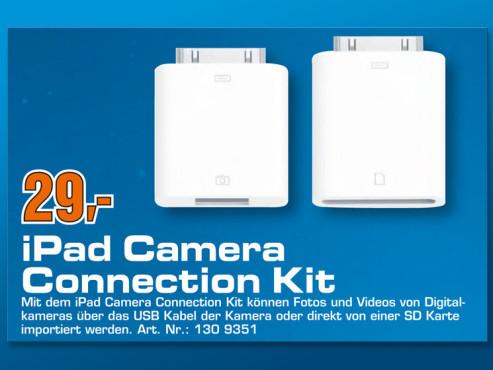 iPad Camera Connection Kit ©Saturn
