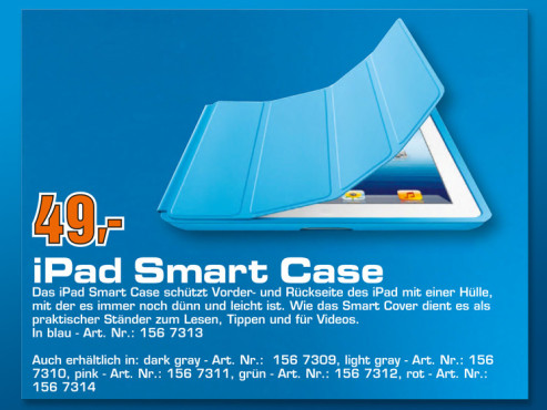 iPad Smart Case © Saturn
