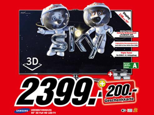 Samsung UE55ES70905XZG ©Media Markt