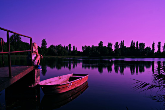 Purple Sky � von: c-row187 © c-row187