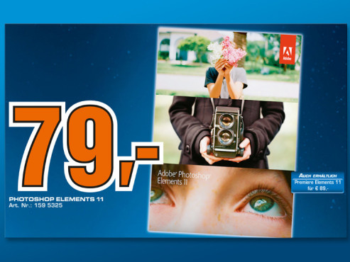 Adobe Photoshop Elements 11 (Mac/Win) (DE) ©Saturn