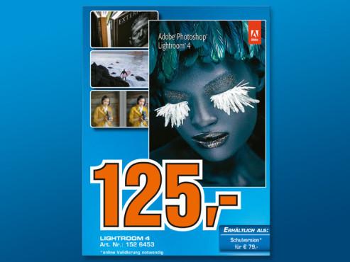 Adobe Photoshop Lightroom 4 (Win/Mac) (DE) ©Saturn
