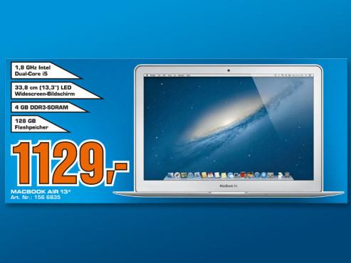 Apple MacBook Air 13'' (MD231D/A) ©Saturn