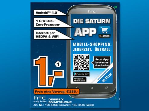 HTC Desire X ©Saturn