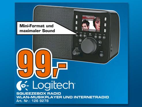Logitech Squeezebox Radio ©Saturn