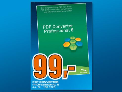 Nuance PDF Converter 8.0 Professional (DE) ©Saturn