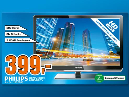 Philips 26PFL4007K ©Saturn