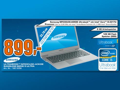 Samsung NP530U3C-A0kDE ©Saturn