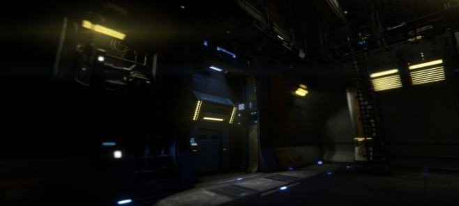 Simulation Star Citizen: Hangar © Cloud Imperium Games Corporation