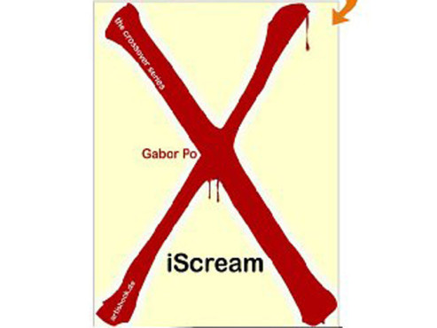 iScream eBook Screeanshot Gabor Pox Blut © Artishock