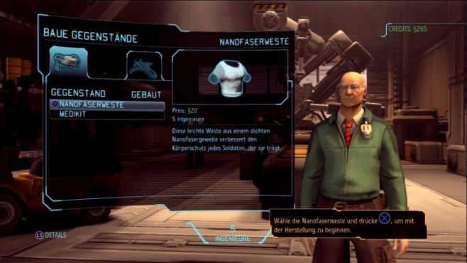 Spieletricks Xcom – Enemy Unknown: Individualisieren © Take-Two