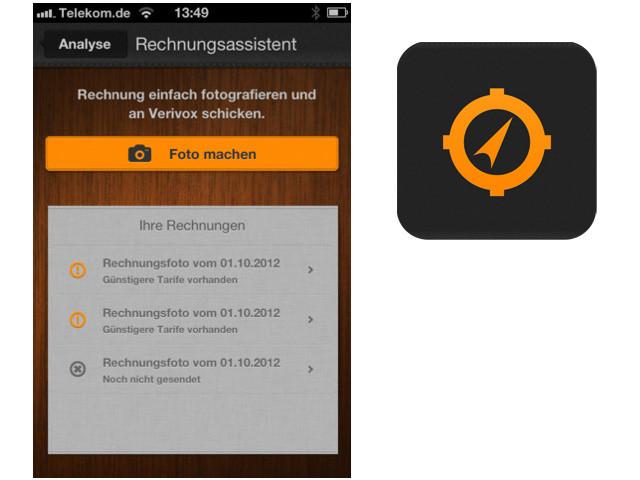 Apps: Verivox, AK Minilabor, Duden Quiz Clipflip und Downhill Xtreme ...