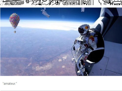 Red Bull Stratos Memes © http://movievore.tumblr.com/