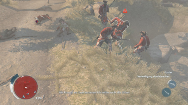 Actionspiel Assassin's Creed 3: Gegen © Ubisoft
