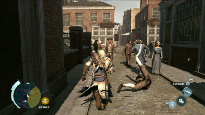 Actionspiel Assassin's Creed 3: Passant © Ubisoft