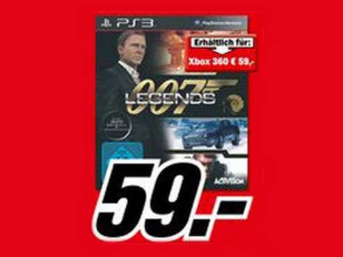 007: Legends © Media Markt