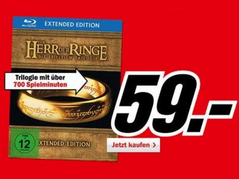 Der Herr der Ringe – die Spielfilm-Trilogie ©Media Markt