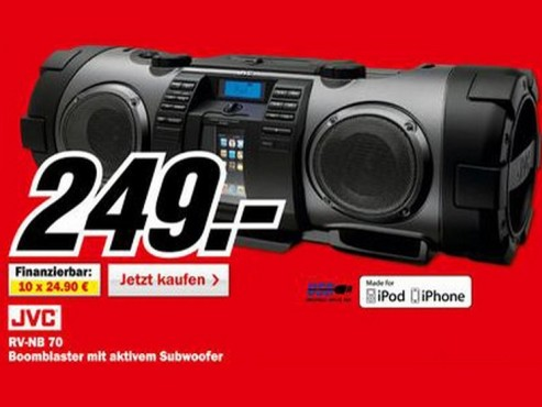 JVC RV-NB70 © Media Markt
