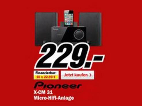Pioneer X-CM31 ©Media Markt