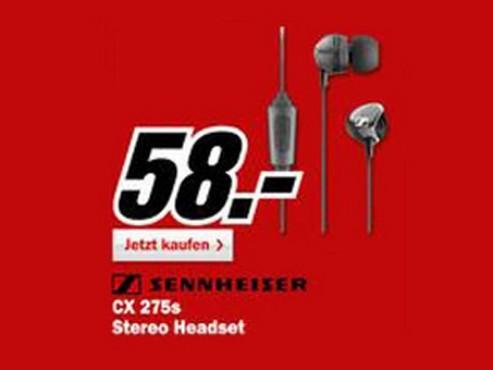 Sennheiser CX275S ©Media Markt