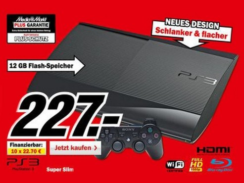 Sony Playstation Super Slim © Media Markt