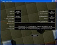 Enigma: Grafik- und Soundoptionen einstellen