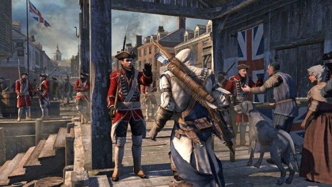 Actionspiel Assassin�s Creed 3: Connor © Ubisoft