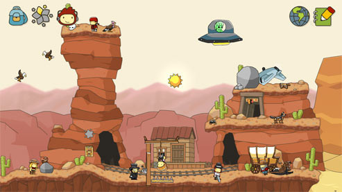 Knobelspiel Scribblenauts – Unlimited: Maxwell © Warner Bros.