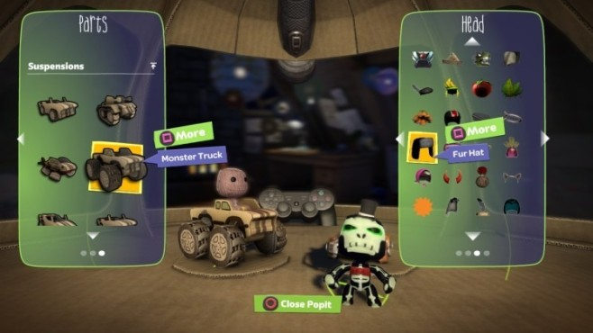Rennspiel Little Big Planet – Karting: Sackboy © Sony