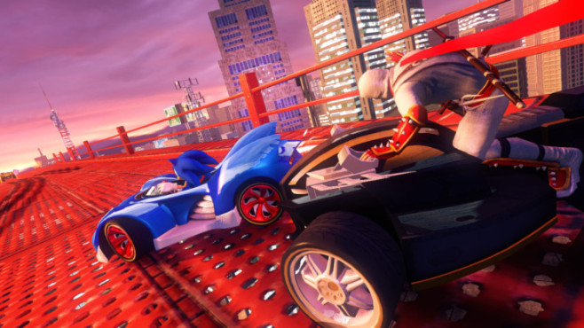 Rennspiel Sonic & Sega All-Stars Racing – Transformed © Sega