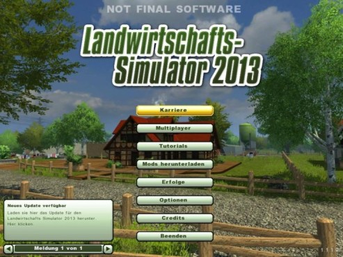 Landwirtschafts-Simulator 2013: Cheats © Astragon