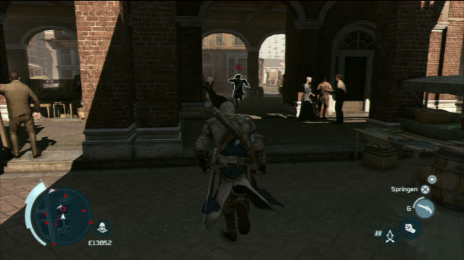 Actionspiel Assassin's Creed 3: Achtung © Ubisoft