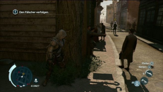 Actionspiel Assassin's Creed 3: Sichtlinie © Ubisoft