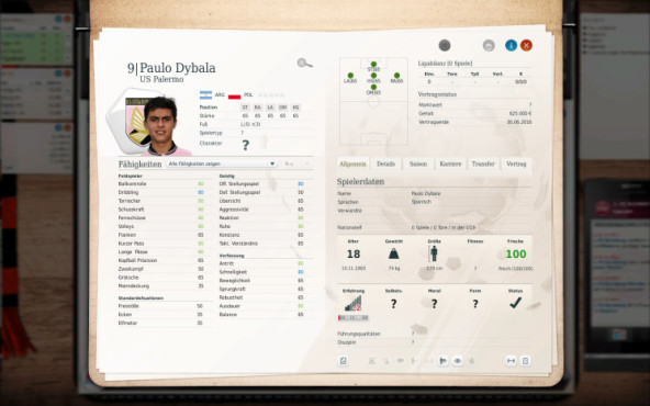 Simulation Fußball Manager 13: Dybala © Electronic Arts