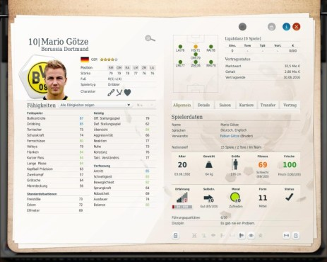 Simulation Fußball Manager 13: Götze © Electronic Arts