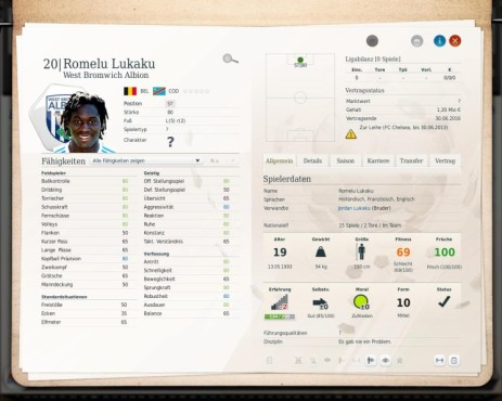 Simulation Fußball Manager 13: Lukaku © Electronic Arts