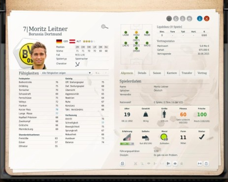 Simulation Fußball Manager 13: Motitz © Electronic Arts