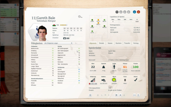 Simulation Fußball Manager 13: bale ©electronic arts