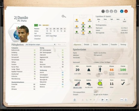 Simulation Fußball Manager 13: da Silva © Electronic Arts