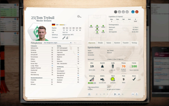 Simulation Fußballmanager 13: Trybull © Electronic Arts