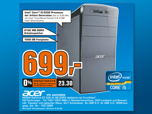 Acer AM3985 ©Saturn