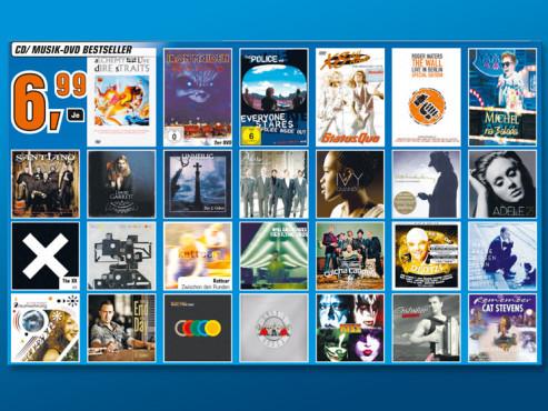 CD/Musik-DVD-Bestseller ©Saturn