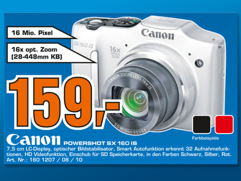 Canon Powershot SX160 IS © Saturn