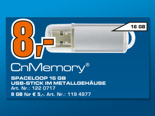 CnMemory Spaceloop 16 © Saturn