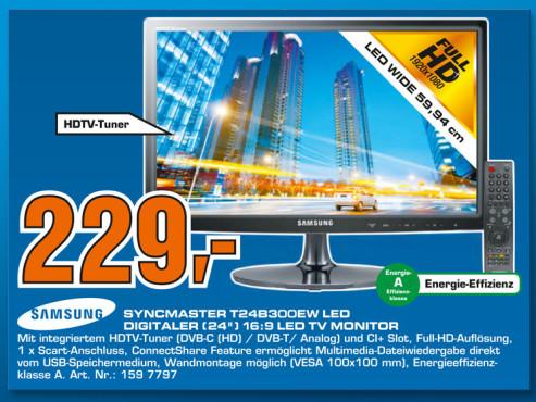 Samsung SyncMaster T24B300EW ©Saturn